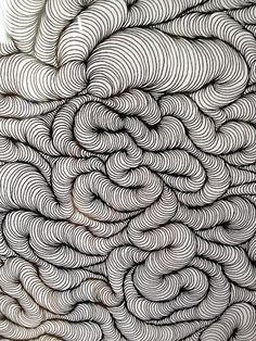ink on paper pattern