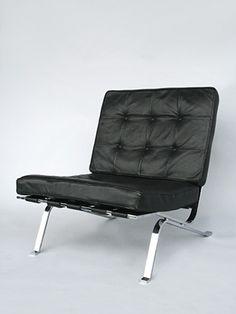 Haussmann Robert and Trix 1954 Easychair RH 301 Vintage Furniture, Furniture Design, Barcelona Chair, Contemporary Design, Modern, Home Decor, Trendy Tree, Decoration Home, Room Decor