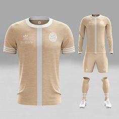 2ac56e6f59f69 Adidas Originals and Nike Sportswear jersey design concepts using ...