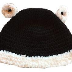 Un grand marché - Vendez, achetez des créations fait main et 100%  françaises. Bonnet bébé panda 0b5796801c0