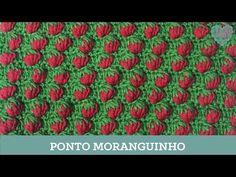 Criações em Crochê: Ponto Moranguinho   Luciana Ponzo - YouTube