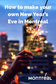 Just because the boisterous dance parties and other spirited gatherings that usually accompany New Year's Eve in Montréal are on hold this year, it doesn't mean the city's always-deep desire to celebrate is in any way diminished. Here are a few suggestions for putting the happy in your New Year, from the comfort of your own home, or safely with your own family outdoors in neighbourhoods around the city.