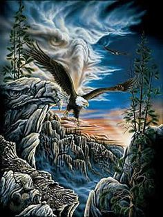 10 Eagles jigsaw puzzle by Sunsout
