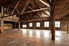 converted warehouse dance studio - Google Search