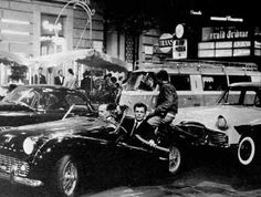 cinecitta fellini la dolce vita   Fellini Photo Archive