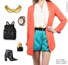 Bold with bold Top: LT20889  Bottom: VP70273 Jacket: VJ90204 www.veryjusa.com   #inspiration #spring #boldcolors #springlookbook #nyfw #lfw #fashion #springfashion #ootd #ootn #instafashion #instalike #instagood #instamood #instadaily #outfit #lookoftheday #style #wiwt #wdywt #igstyle #igfashion #photooftheday #pfw #pretty #cute #cool #shapes #shoes #heels #jewelry