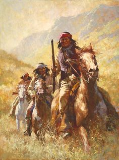 Art Country Canada -HOWARD TERPNING Legend Of Geronimo