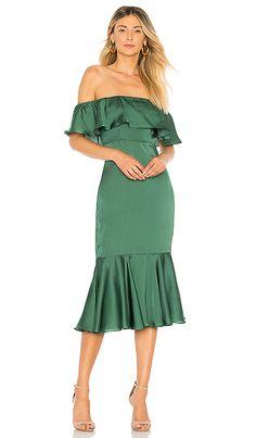 Laguna Midi Dress in Green