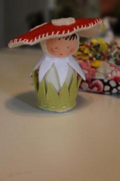 Tiny Toadstool Doll