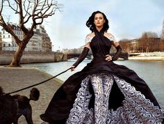 Jean Paul Gaultier ~ modelled by Katy Perry, photographed by Annie Leibovitz and styled by Jessica Diehl for Vanity Fair US June 2011.