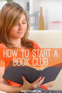 Great post on how to start a book club! Lots of great tips and suggestions for how to set it up, host, pick books, and more. I so want to start my own book club group now! Who's with me?: