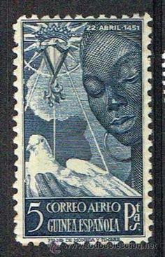 1951 ESPAÑA GUINEA ESPAÑOLA. NUEVOS SIN FIJASELLOS MNH** - Foto 1