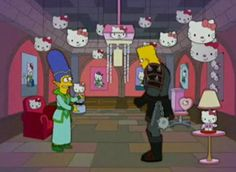 The Simpsons x Hello Kitty (2014)