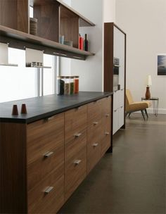 In all in the details- by Henry Built Modern Kitchen Cabinets