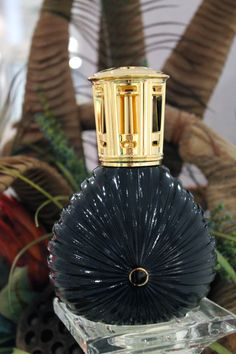 Black Caroline Lampe Berger, $39.50
