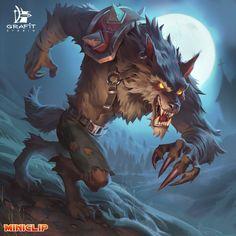 ArtStation - Characters illustrations for Miniclip, Grafit Studio Fantasy Dragon, Fantasy Warrior, Fantasy Art, Furry Wolf, Furry Art, Game Character Design, Character Art, Fantasy Creatures, Mythical Creatures