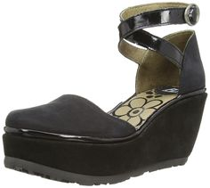 Fly London Penn, Women's Ankle Strap Court Shoes: Amazon.co.uk: Shoes & Bags