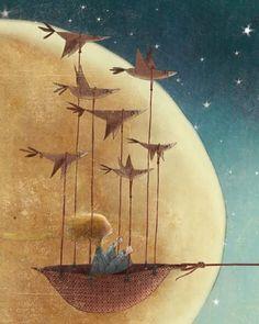 volere volare!  #thelittleprince #illustration #manuelaadreani