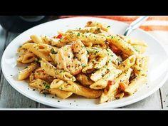 Easy Shrimp Alfredo - an Easy Recipe for Shrimp Pasta