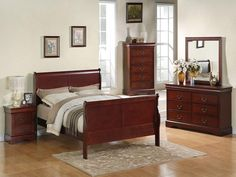 Standard Lewiston Cherry Bedroom Collection at DAWS Home Furnishings in El Paso, TX