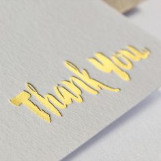 Some new #goldfoil thank you cards are now available in my Etsy shop.  all the shiny, it's so much fun to print! From £55 for 50 cards