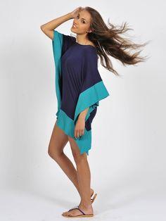 Diligo colour block kimono dress | www.diligo.co.za Kimono Dress, Colour Block, Spring Summer, Fashion Design, Shopping, Collection, Tops, Dresses, Women