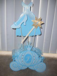 Cinderella Princess Centerpiece by JennysPrestigeCrafts on Etsy, $15.99