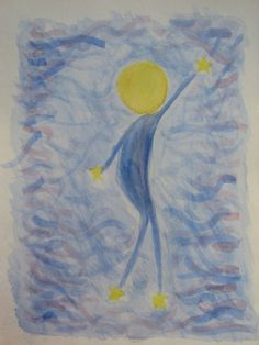star child - painting - 4th grader