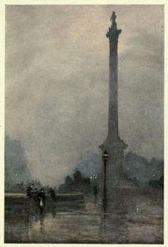 """Familiar London"" in 1905 by Rose Maynard Barton (Rochestown 1856- Knightbridge 1929)."