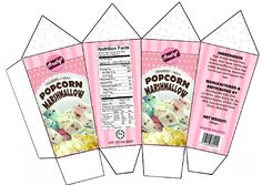 popcorn marshmallow packaging