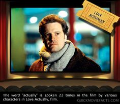 Movie Facts- Love Actually.