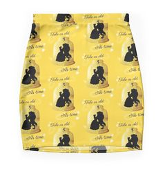"""""""Tale As Old As Time"""" Pencil Skirts by LaurasLovelies 
