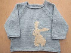 Bunny Jumper knitting project by Liz A | LoveKnitting