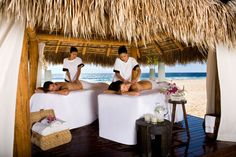 Outdoor Couples Massages at the Cabo Azul in San Jose Del Cabo, Mexico  Can't get anymore relaxing than that! It's all about rest and relaxation! #resortime  #helzbergdiamonds #crazypinlove