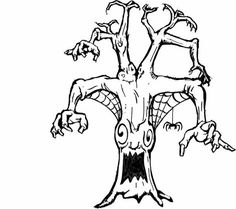 45 Best Scary Coloring Pages images in 2020 | Scary ...