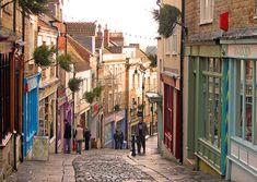 Catharine Hill in Frome, Somerset. This is where I want to live next year!