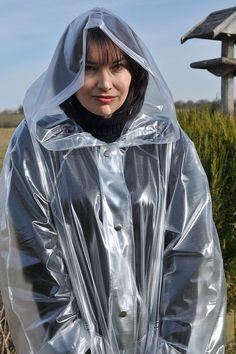 ab2ff7db3 Plastic Raincoat, Pvc Raincoat, Hooded Raincoat, Plastic Mac, Rain Cap,