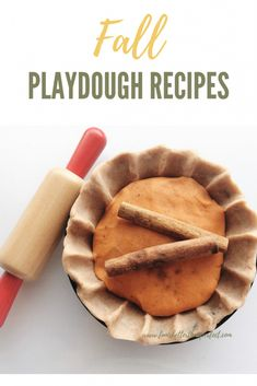 Fall Playdough Recipes: All the deliciousness of pie without ruining their dinner Herbstknetmasse, Apfelkuchen, Kürbisgewürz, Vanillezimt Easy Crafts For Kids, Creative Crafts, Kid Crafts, Halloween Crafts, Best Homemade Playdough Recipe, Sensory Activities For Preschoolers, Sands Recipe, Science For Kids, Cool Diy Projects