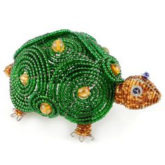 Fathers Day Gift Idea - Beaded Beadworx Turtle| Grass Roots Creations