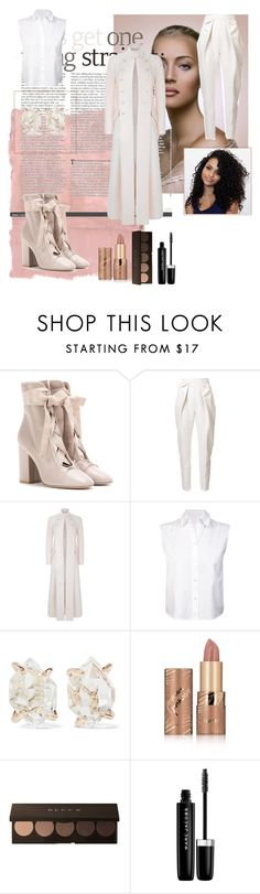 """""""My hero"""" by yasqueeeeen ❤ liked on Polyvore featuring Rothko, Valentino, Delpozo, Temperley London, T By Alexander Wang, Melissa Joy Manning, tarte and Marc Jacobs"""