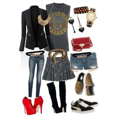 """MY POLYVORE SET CALLED """"AUTUMN NIGHT OUT"""" This is from my brain, and most from my own closet. I am a walking oxymoron, and so is my wardrobe. I put cheap with expensive together and, for me, that create..."""