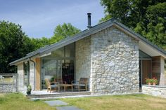 Exterior of Westering, South West England, © Annie Martin Architect www.architecture.com