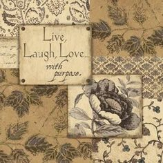 Live-Laugh-Love Canvas Art - Jo Moulton (24 x 24)