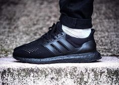 Adidas Ultra Boost - Triple Black - 2016 (by tcoolkicks)