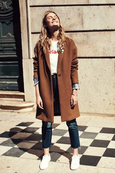 A Casual Cool Layered Look For Fall | Le Fashion | Bloglovin'
