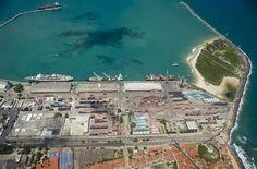 Porto de Fortaleza, registrou um crescimento de 2,59% na movimentação de mercadorias somente nos primeiros três meses de 2012