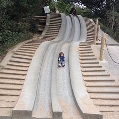 Rite of passage, cement slide. - @blaugie- #webstagram