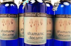 SHAMANIC DREAMS  Meditation or Pillow Spray  by ScentualGoddess, $13.95