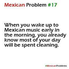 Or any spanish music, lol. Casi todos los sabados es un dia para limpiar!