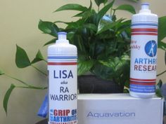 Personalize H2O bottle gifts: http://curearthritis.aquavation.org  20% goes to arthritis research!